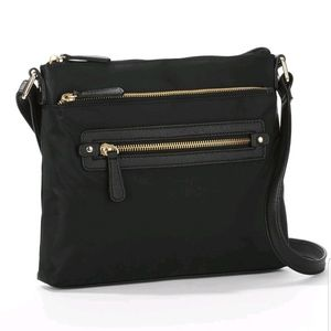 Black Abby Crossbody Bag Time and Tru Small Size